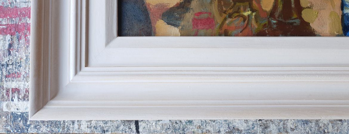 Traditional wide Gesso frame